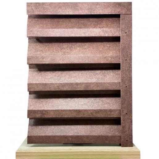 Panou interval gard jaluzele Atlas 200x125x0.04 cm Imitatie Piatra Granit Imperial