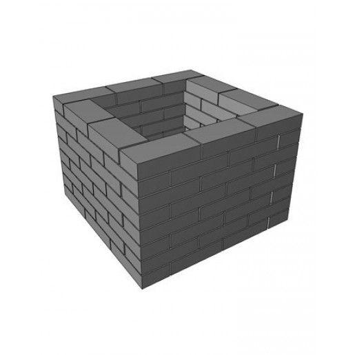 Jardiniera Quadra 76x76x51.5 cm