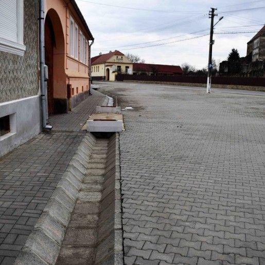 Rigola Via IV 37x90x28 cm, Gri