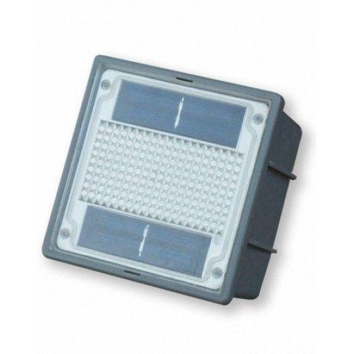 Lampa LED Solara P6 10x10x6 cm, Gri