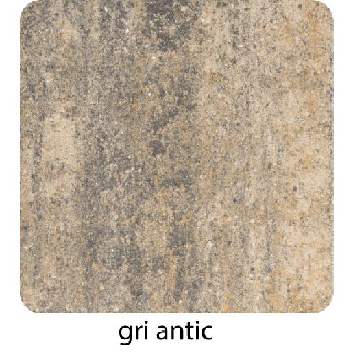Roca 10x10x6 cm, Gri Antic