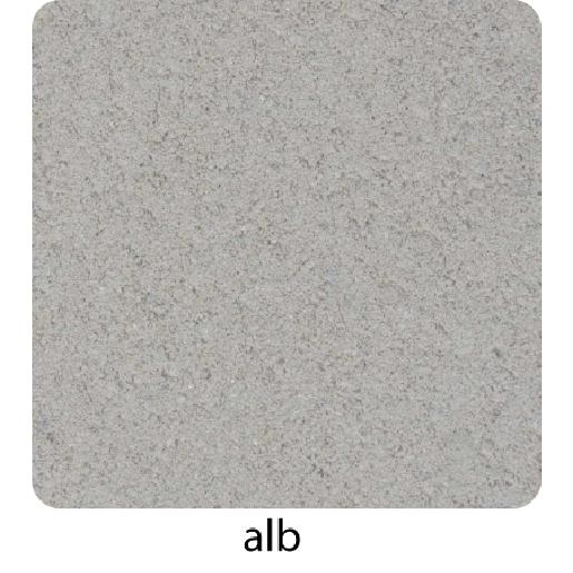 Quatro Tactil Linii 20x20x6 cm, Alb