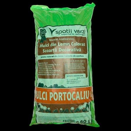 Mulci Portocaliu Sac 60l