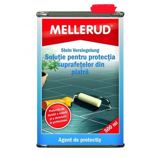Solutie pentru protectia suprafetelor din piatra Mellerud 0189, 0.5l