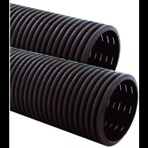 Teava corugata dublu strat drenaj, D110 mm, Fante 360 grade, colac 50 M