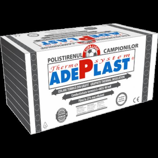 Polistiren expandat grafitat Adeplast EPS 100, 100x50x2 cm