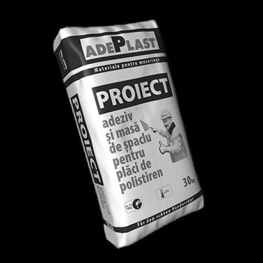 AdezivAdeplast Proiect simasadespaclupentruplaci termoizolantepolistiren, 30 kg