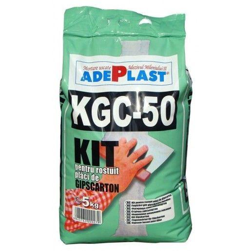 Kitpentrurostuireaplacilor degips carton Adeplast KGC-50, Alb, 5 kg