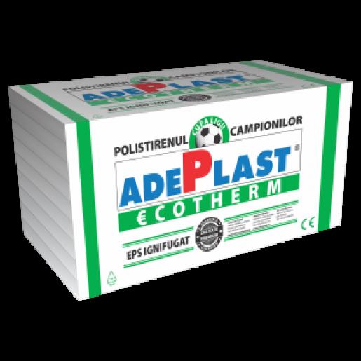 Polistiren expandat Adeplast EPS 80, 100x50x2 cm