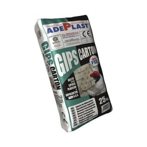 Adeziv placi gips carton Adeplast AGC, Alb, 25 Kg