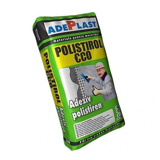Adeziv Adeplast Polistirol Ecopentru termoizolatii, 23 kg