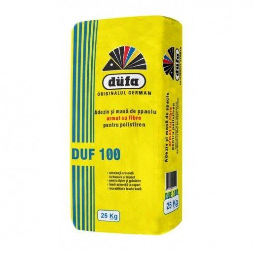 Adeziv si masa de spaclu pentru polistiren Duf 100, 25 kg