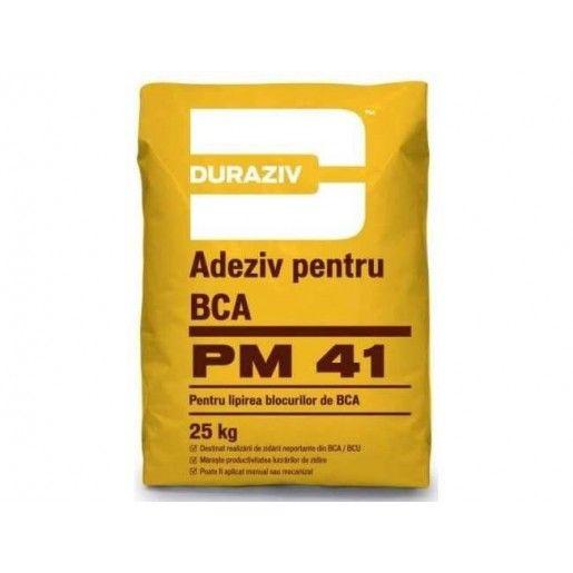 Adeziv pentru lipirea blocurilor de BCA, PM 41, 25 kg