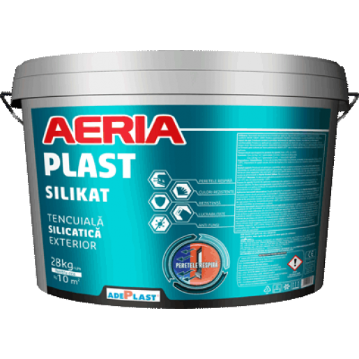 Termosistem complet Adeplast cu vata minerala bazaltica Petrafas, 100x60x10 cm