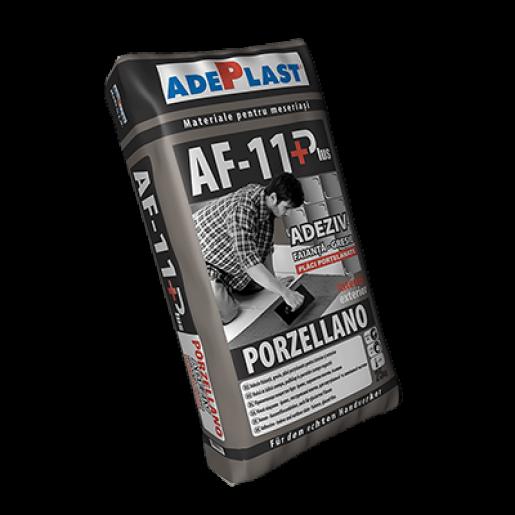 Mortar Adeplast AF 11+ Porzellano pentruplaciportelanate, 25 kg