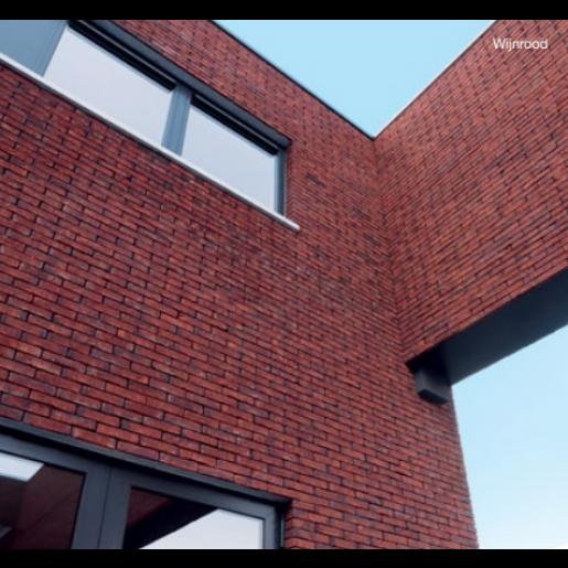 Caramida aparenta Terca Agora Wijnrood, 21.5x10.2x6.5 cm