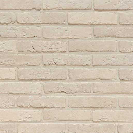 Coltar mic klinker Terca Agora Nevel Wit, 18.5x5x2.3 cm