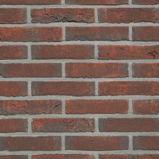 Placaj klinker Terca Agora Wijnrood, 21.5x6.5x2.3 cm