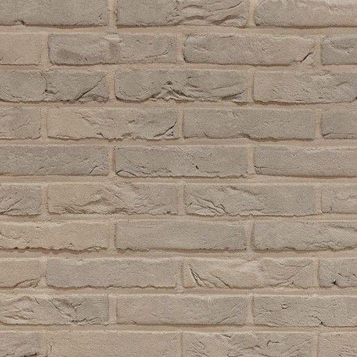 Coltar klinker Terca Agora Zijde Grijs, 21.5x6.5x2.3 cm