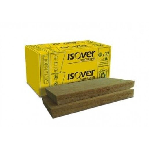 Vata minerala bazaltica Isover PLU 50, 100x60x5 cm