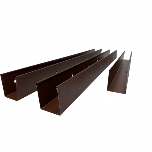 Panou interval gard jaluzele Atlas 200x125x0.045 cm Mat BGM