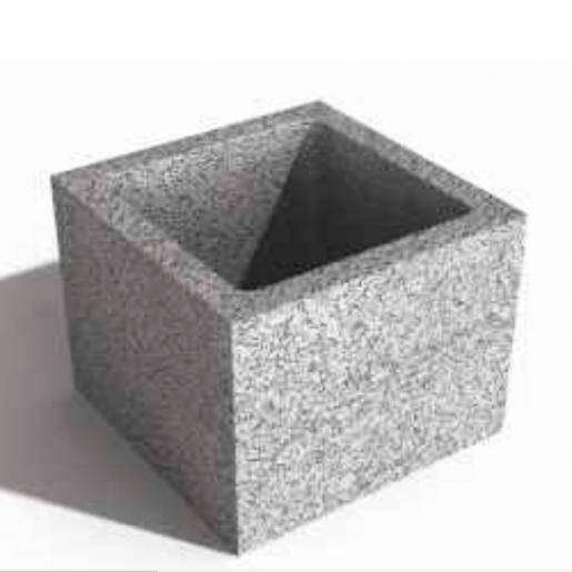 Bloc de cofraj pentru stalp 30x30x23 cm