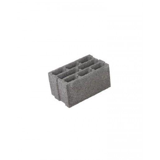 Boltar Zidarie BZ1 40x30x19.5 cm, Gri Ciment
