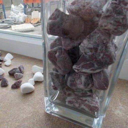 Marmura Rotunjita Rosie 2-4 cm, Sac 20 kg