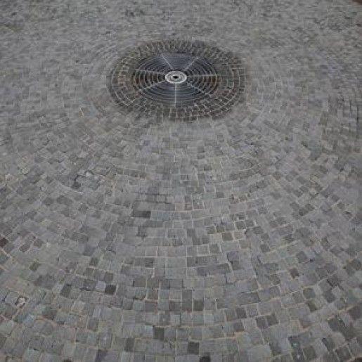 Bordura Andezit  26x13x13 cm, Natur