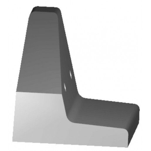 Bordura Inalta BL 102, 100x62x27-60 cm
