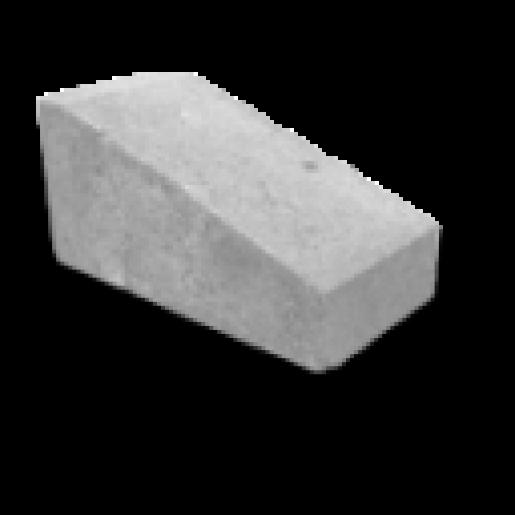 Bordură rampă 50x25x25cm, gri