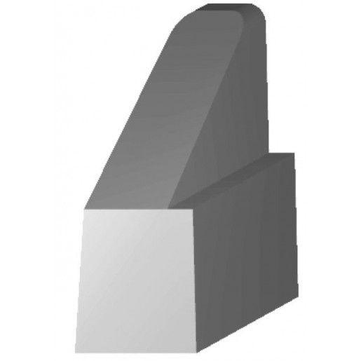 Bordura Inalta tip 3A/3B de capat 75x23x22-45 cm