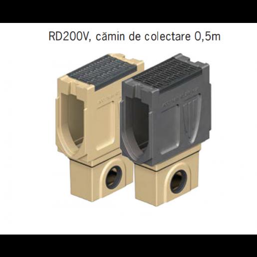 Camin colector Monoblock RD 200 din beton cu polimeri 66x26x36 cm