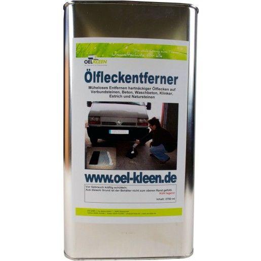 Solutie pentru indepartarea petelor de ulei/hidrocarburi din beton/pavaj Olfleckentferner, 3750ml