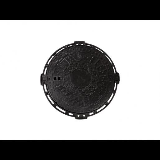 Capac fonta rotund 70 cm cu inchizator