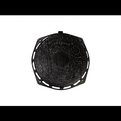 Capac fonta carosabil rotund 80.5 cm cu inchizator C250