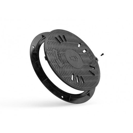 Capac compozit rotund 78 cm B125 (ventilat)