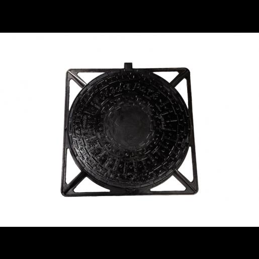 Capac fonta carosabil 100x100 cm cu inchizator