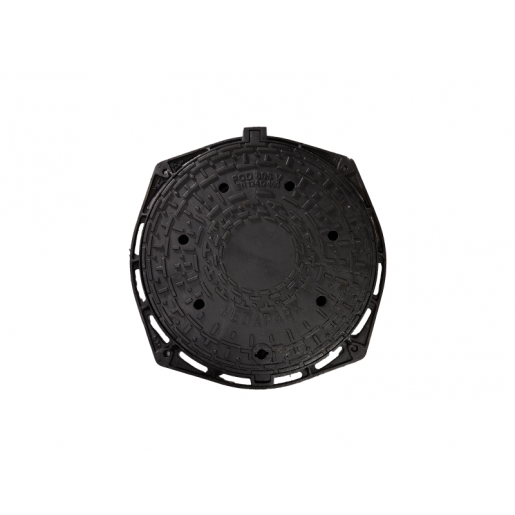 Capac fonta carosabil rotund 80.5 cm ventilat