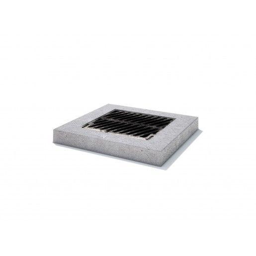 Rama rectangulara fonta+beton armat 120x120x15 cm