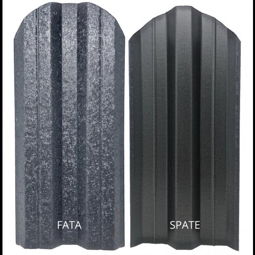 Set 25 buc/3 ml Sipca Metalica Gard Hi-Mat Structurat Gri 0.50 mm