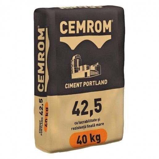 Ciment Cemrom CEM II/B-LL 42.5N, 40 kg