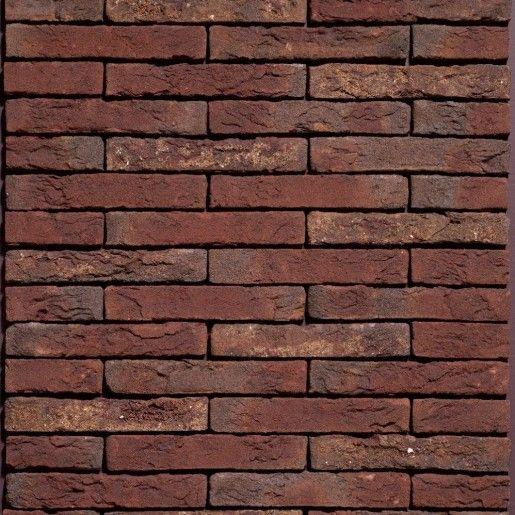 Placaj klinker Terca Classo Blauw-Rood Genuanceerd Gesinterd, 21x5x2.3 cm