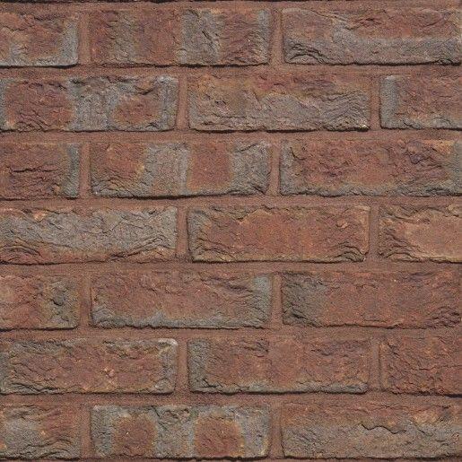 Coltar mic klinker Terca Classo Blauw-Rood Genuanceerd, 18.5x6.5x2.3 cm