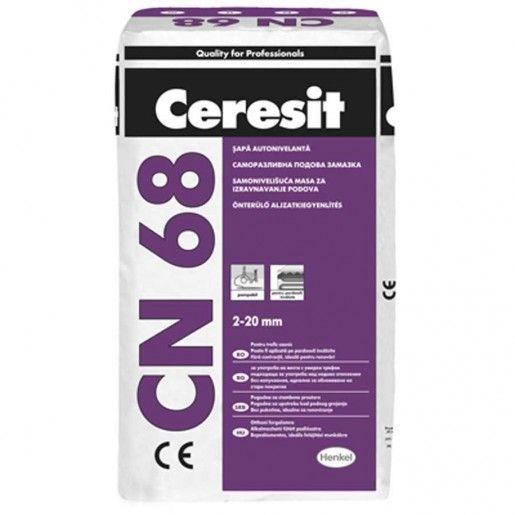 Sapa autonivelanta Ceresit CN 68, Gri, 25 kg