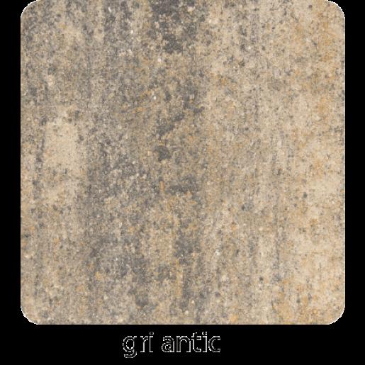 Antic 10x10x6 cm, Gri Antic