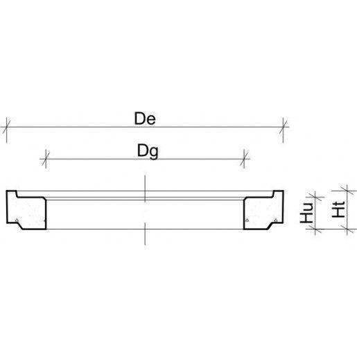 Inel ajustare D 86.5 di 62 cm