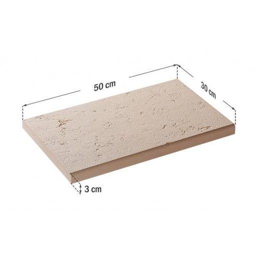 Capac Interval Clasic 50x30x3 cm, Smoke
