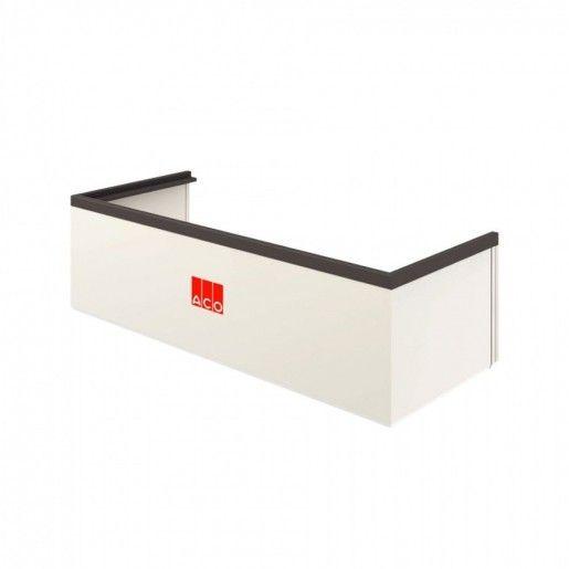 Element cu inaltime fixa 27.5 cm si kit de montaj pentru curti de lumina cu latime 100 cm, adancime 40 cm