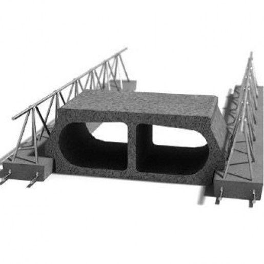 Element de planseu EB 60/19B 45x19x25 cm